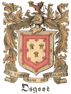Osgood Coat of Arms